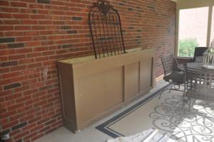 Ballard Designs OUTLET Meets Craigslist Potting Bench