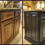 Painted Kitchen Island Reveal