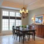 Dining Room Evolution – Bamboo Blinds