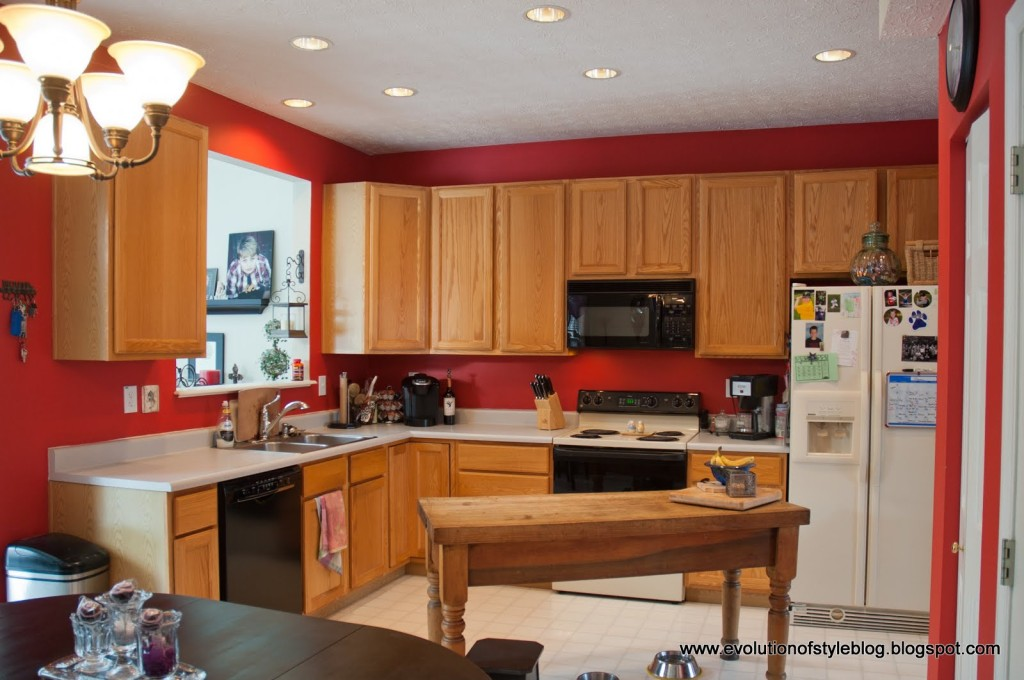 Painted kitchen cabinets before and after How to Paint Your Kitchen Cabinets  like a pro Evolution of Style