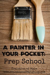 All you need to know about paint prep
