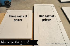 Painting Builder Grade Cabinets