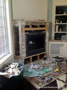 Options: Stone Fireplace Makeover 2.0