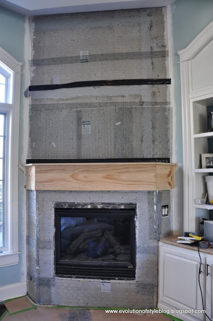 after mudding this fireplace i hope to never see mortar again ever