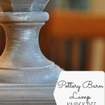 Pottery Barn Lamp Knock-Off Complete (and a Tutorial)