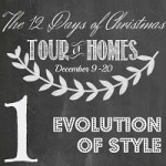 Day 1: 12 Days of Christmas Holiday Tour of Homes!