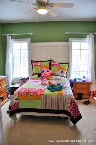 Girl's Room Organization + Update