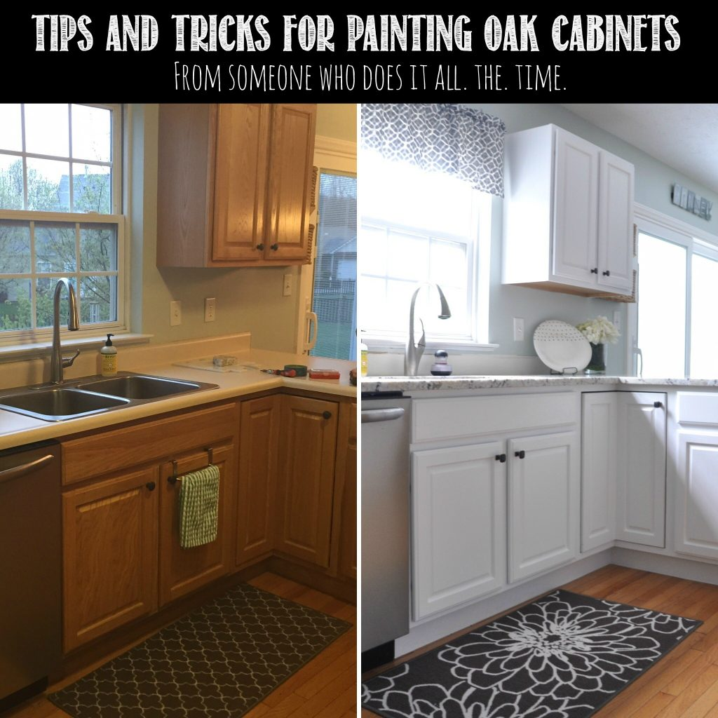 Painting golden oak cabinets - How To Paint Oak Cabinets