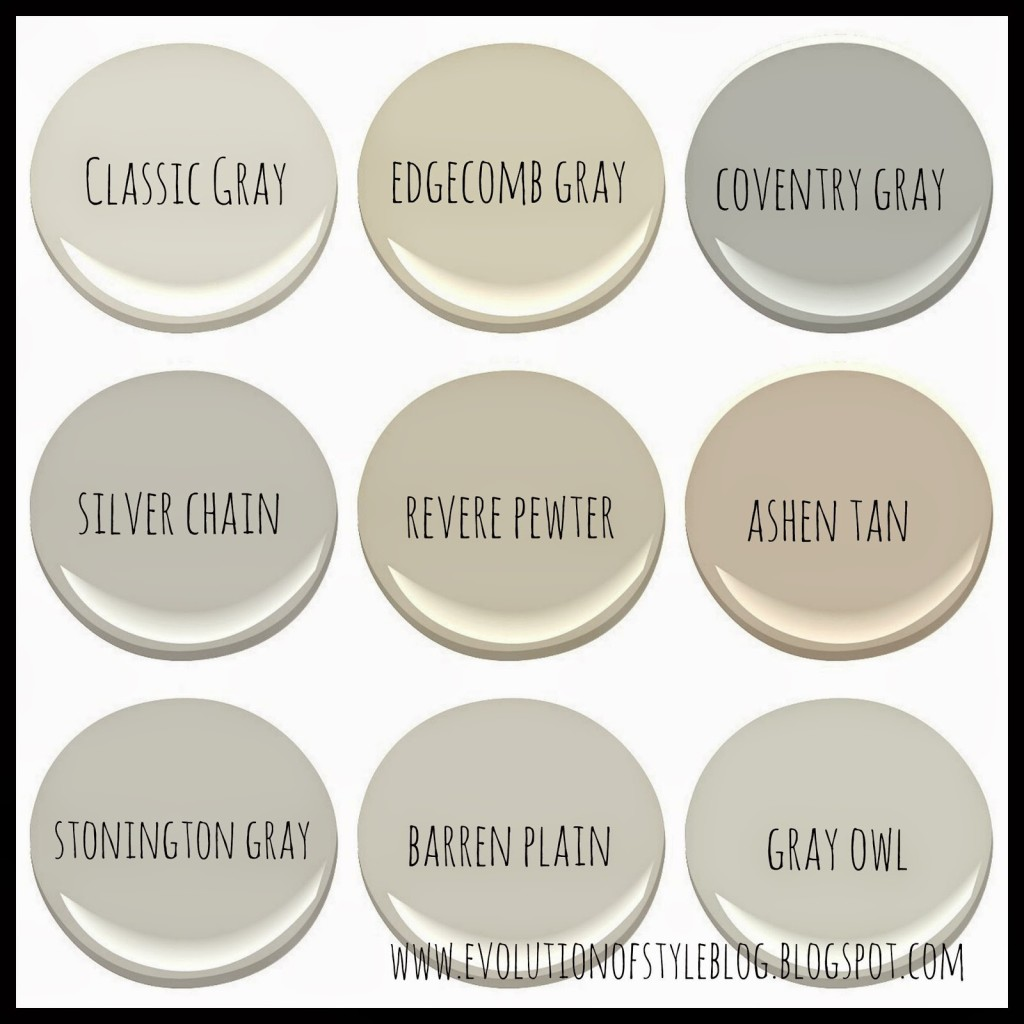 Benjamin Moore Best Selling Colors By Room Benjamin Moore S Best Selling Grays Evolution Of Style