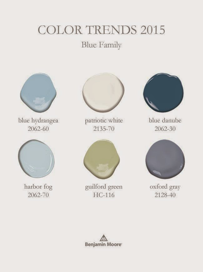 Benjamin Moore 2015 Paint Color Of The: Benjamin Moore's 2015 Color Of The Year (and Color Trends