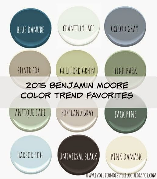 Guilford Green Kitchen Cabinets: Benjamin Moore's 2015 Color Of The Year (and Color Trends