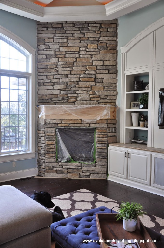 How to update your fireplace with stone evolution of style solutioingenieria Choice Image