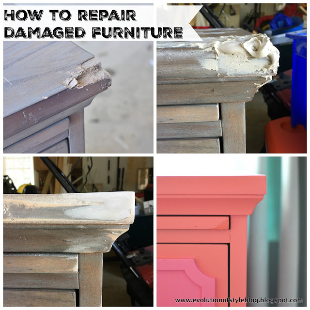 Painting   Topcoat. Dresser Transformed with Amy Howard s One Step Paint   Evolution