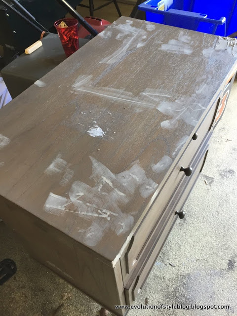 How to fix damaged wood table top