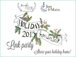 Day 1: 12 Days of Christmas Tour of Homes 2015