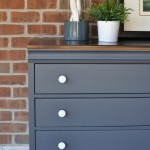 Queenstown Gray Dresser Makeover