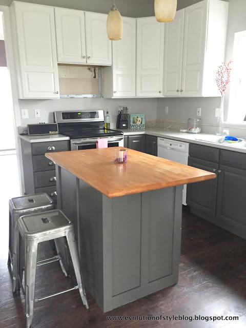 Urbane Bronze kitchen cabinets