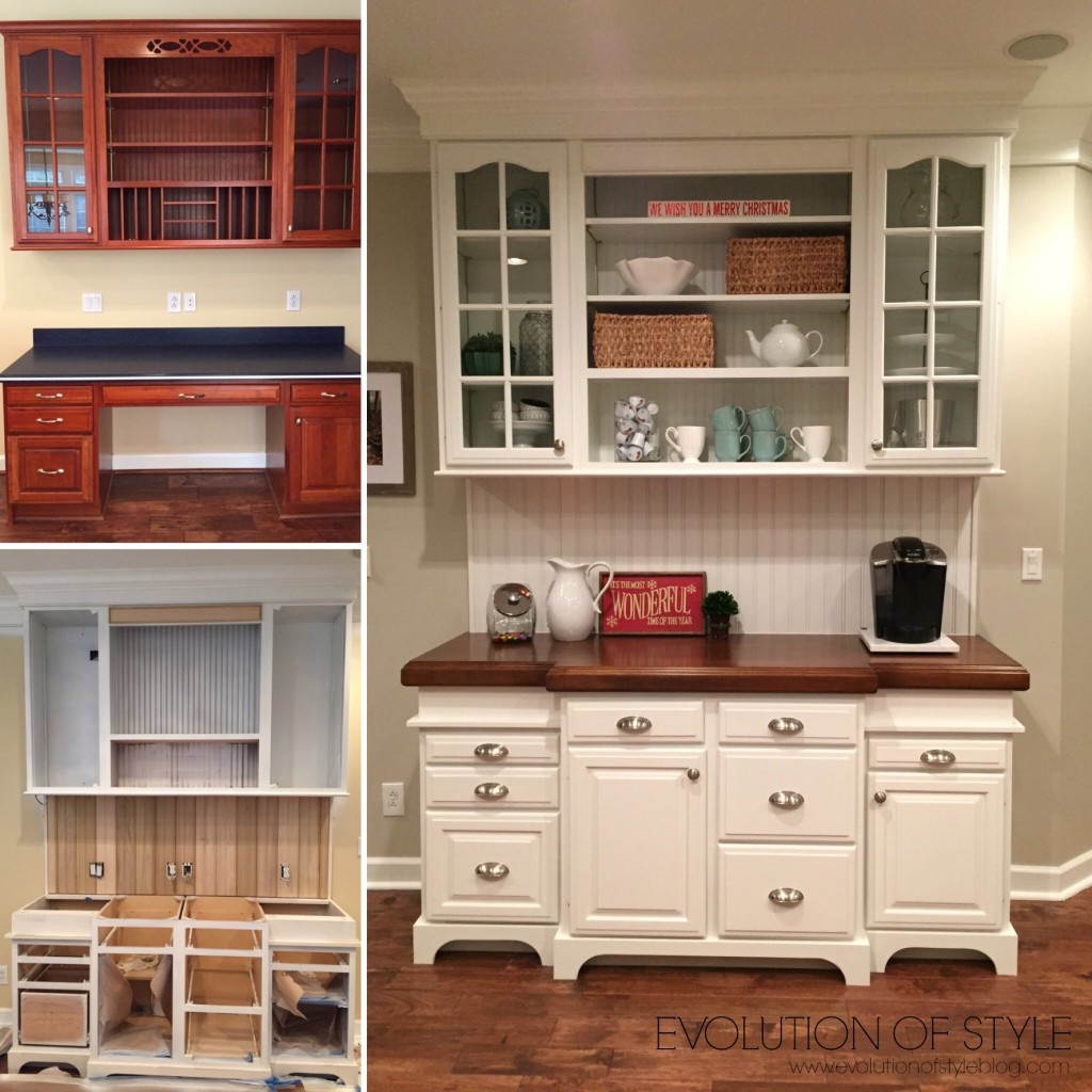 An Epic Painted Kitchen Cabinet Transformation
