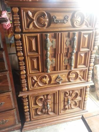 Carved Dresser