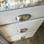 A Revere Pewter Kitchen Cabinet Makeover