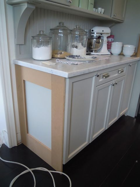 Updating Builder Grade End Cabinets Evolution Of Style