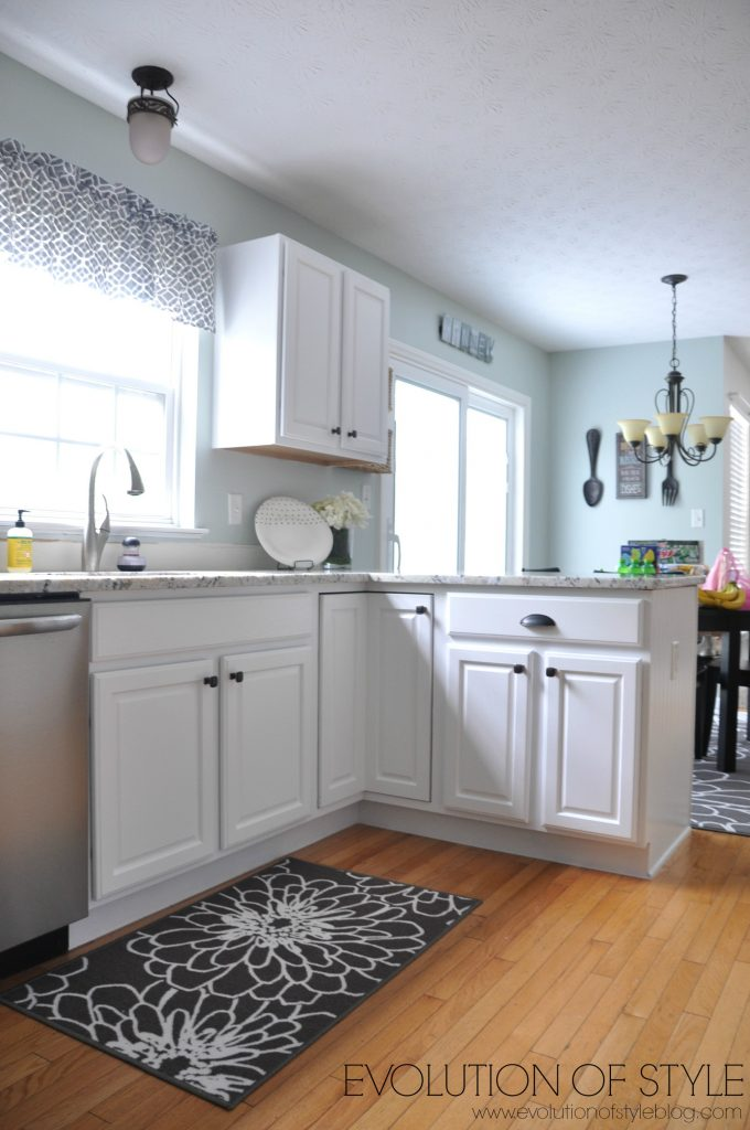 super white kitchen after - D. Lawless Hardware