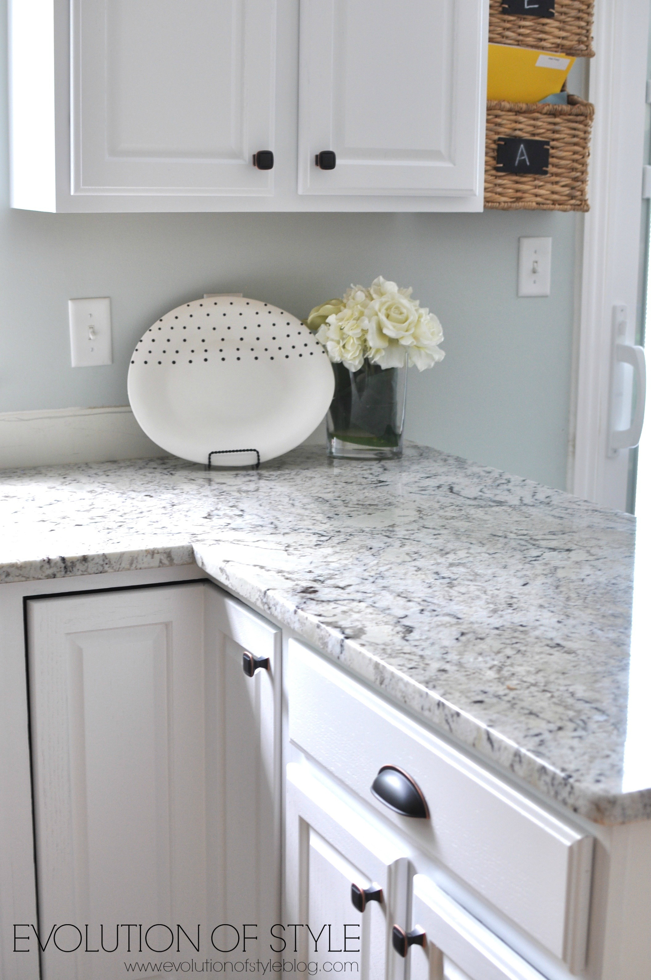 A Super White Kitchen Makeover - Evolution of Style