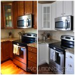 Kitchen Makeover: From Stained Wood(ness) to Bright Goodness