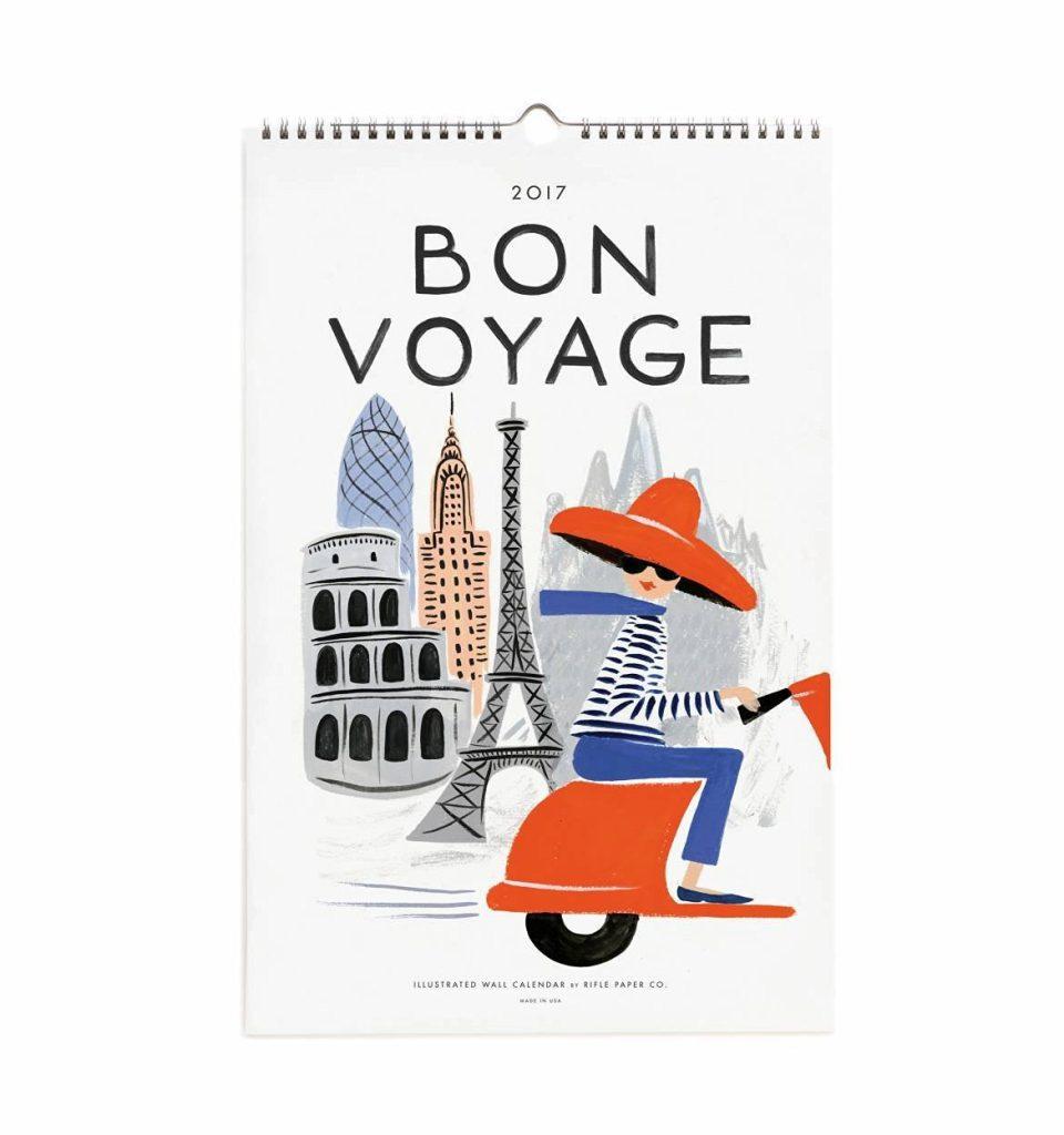 Bon Vogage Calendar