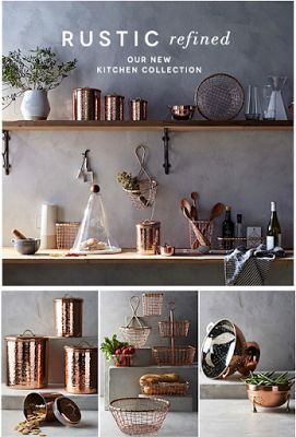 Copper Accessories For The Kitchen Credainatconcom - Grey copper kitchen