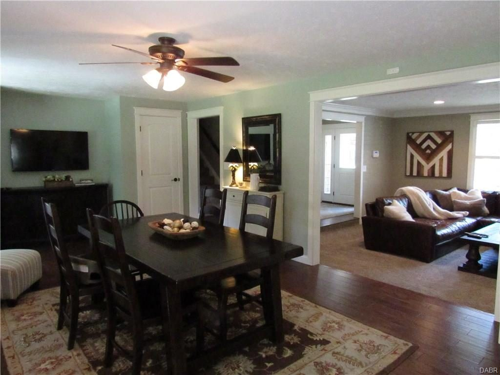 A must see tri level remodel evolution of style for Split living room dining room ideas