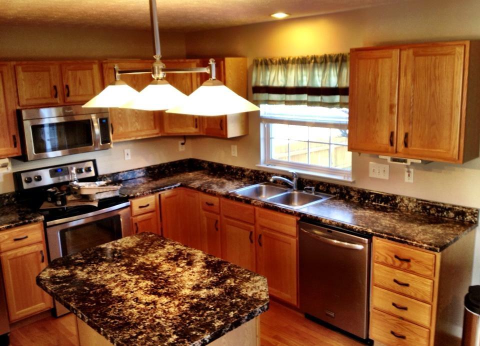 Perfect Oak Kitchen Redo Before2