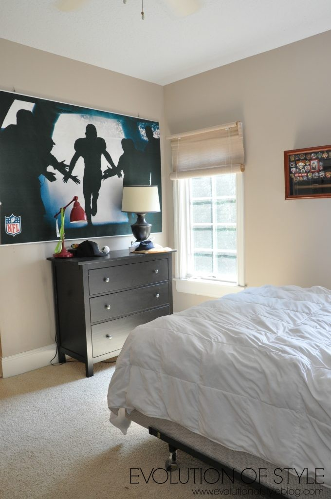 One Room Challenge Teen Boy\'s Bedroom Redo