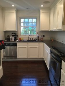 Four Kitchens Before Thanksgiving