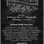 November Kitchen Rehabs + Christmas Tours!