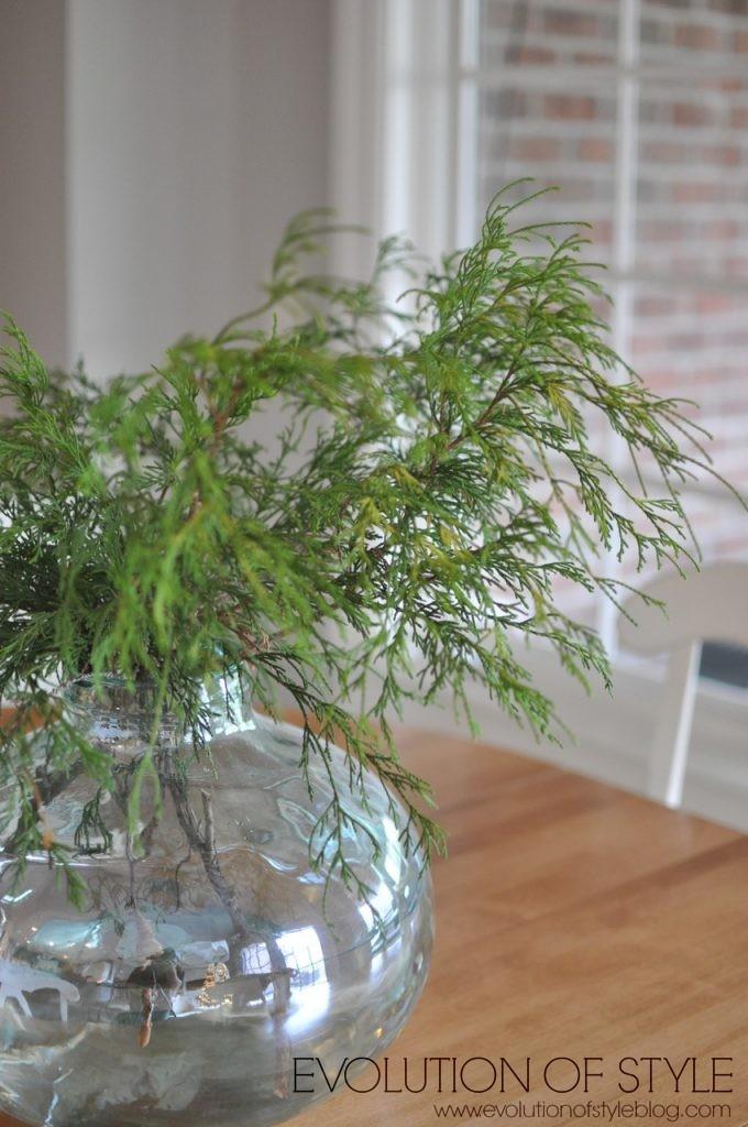Fresh Greenery Christmas Decor