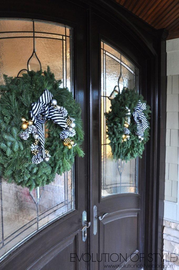 Lynch Creek Farm City Skyline Wreath