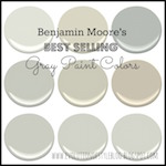 Best selling gray paint colors