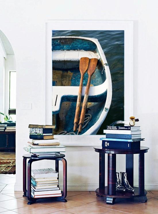Navy Blue Artwork