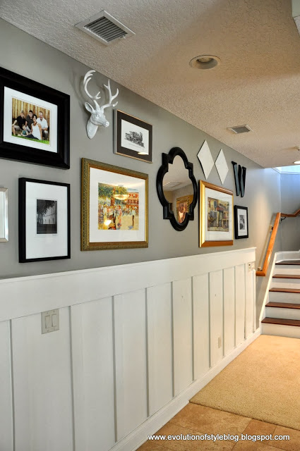 Basement Gallery Wall