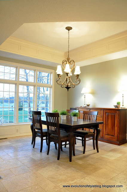 Horizon Gray Dining Room