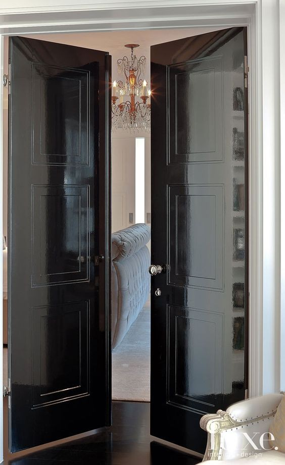 Lacquered Doors & High Gloss Furniture: Yay or Nay? - Evolution of Style