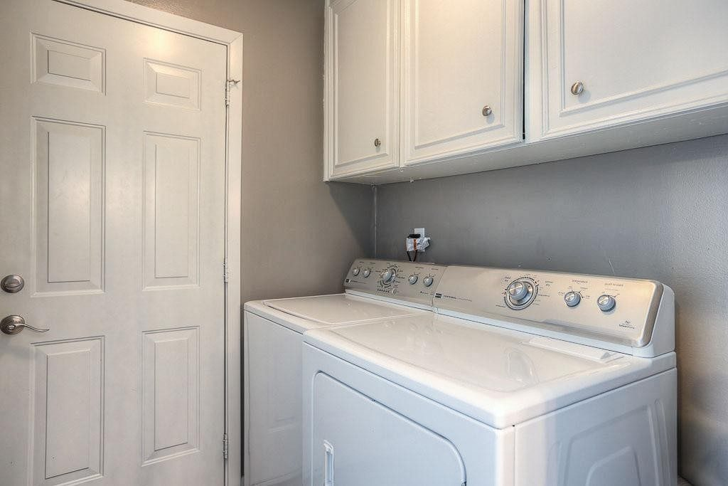 Laundry Room Off Garage