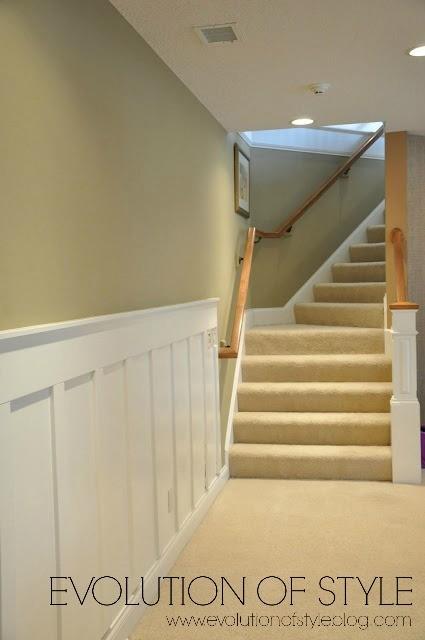 Light Carpet on Stairs