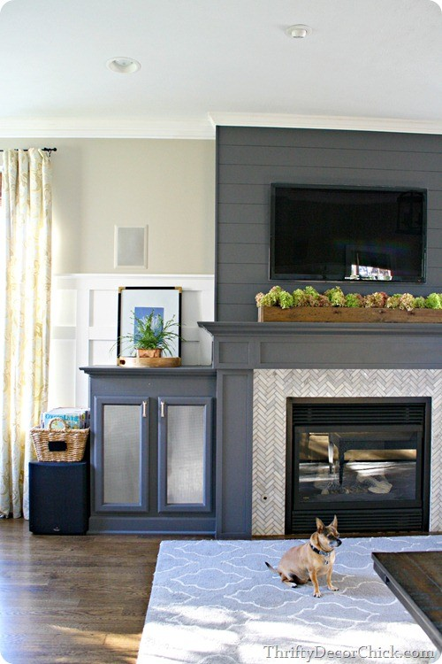 Thrifty Decor Chick Fireplace