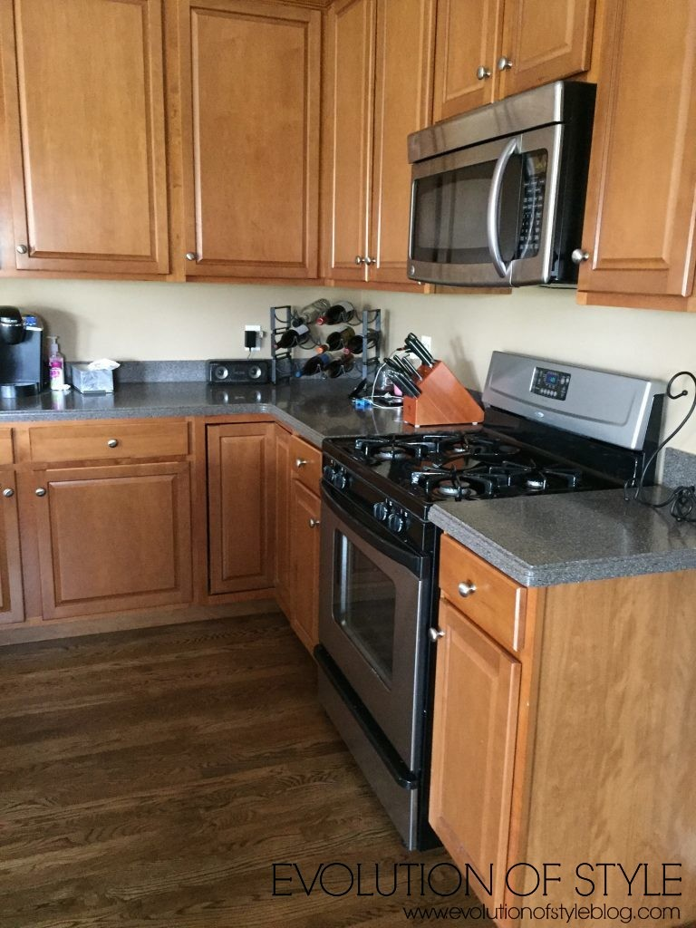Kitchen Makeover Before-After