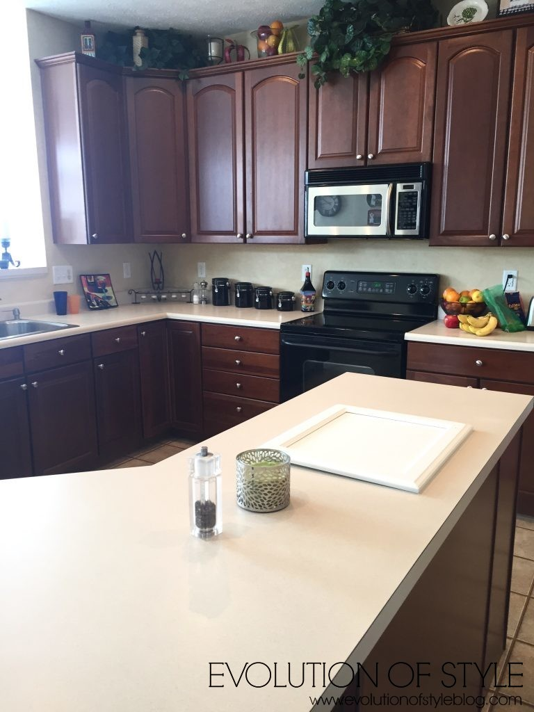 Cherry Kitchen Makeover - Before