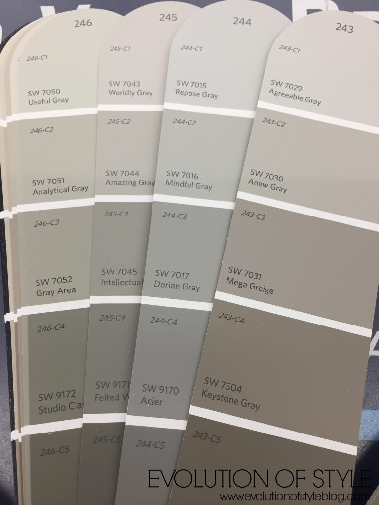 Paint Stain Colors Sherwin Williams