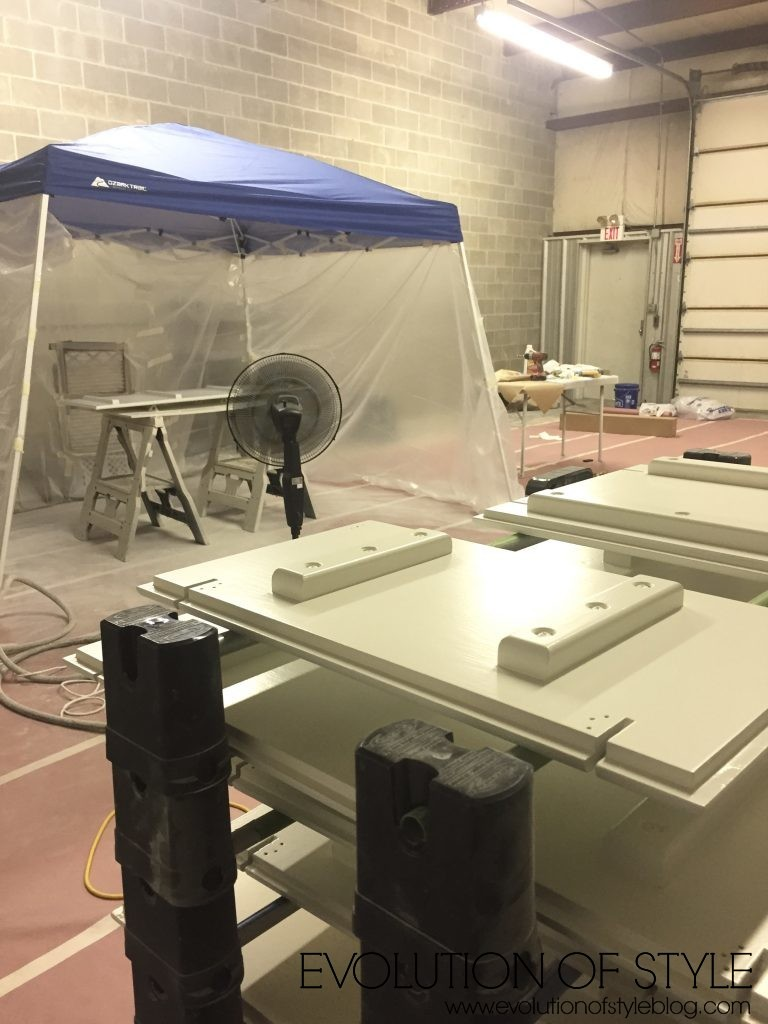 How To Build A Spray Booth Evolution Of Style
