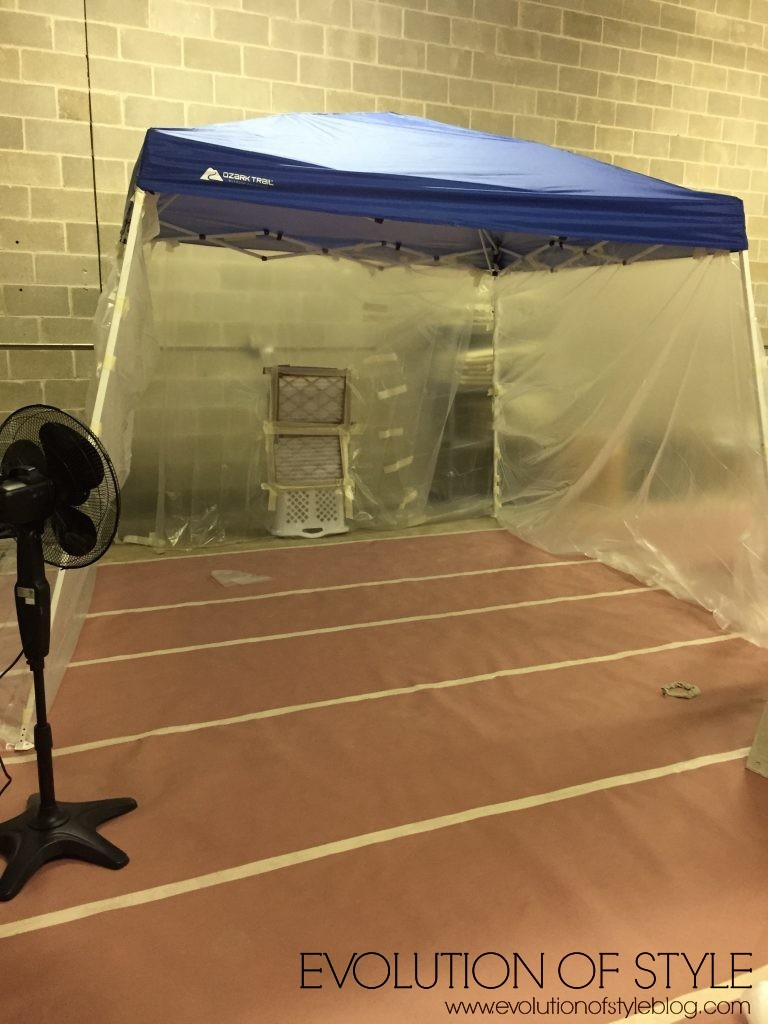 How to Make a Spray Booth